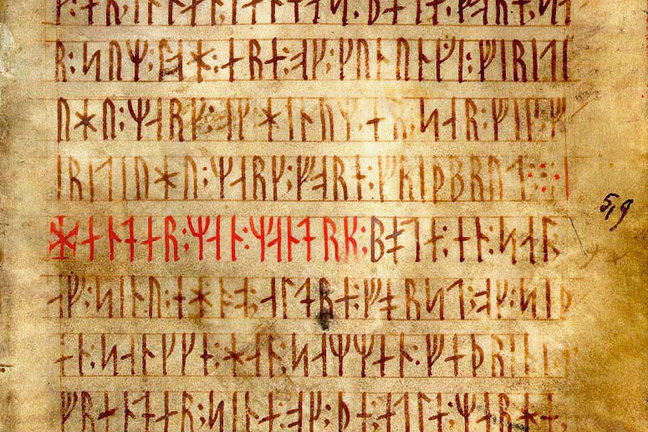 Runer - Rune Alphabet