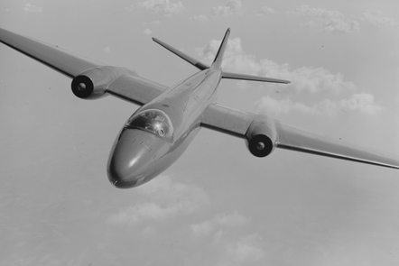 The prototype of the English Electric Canberra
