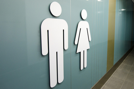 Men and women toilet signs. Stock Media provided by lucidwaters / Pond5