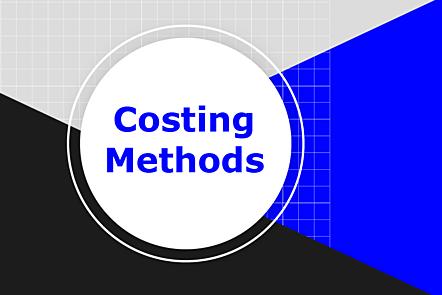 Costing methods