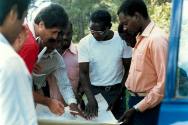 Humanitarians working in Africa, c.1980