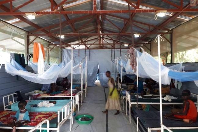 VL treatment ward Lankien, South Sudan