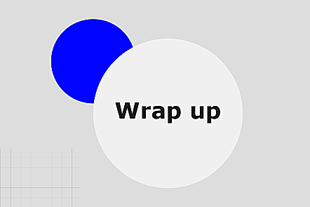 Weekly wrap-up graphic
