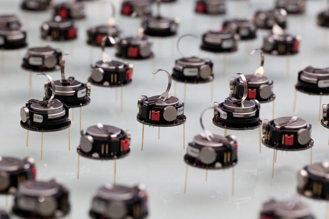A group of small robots