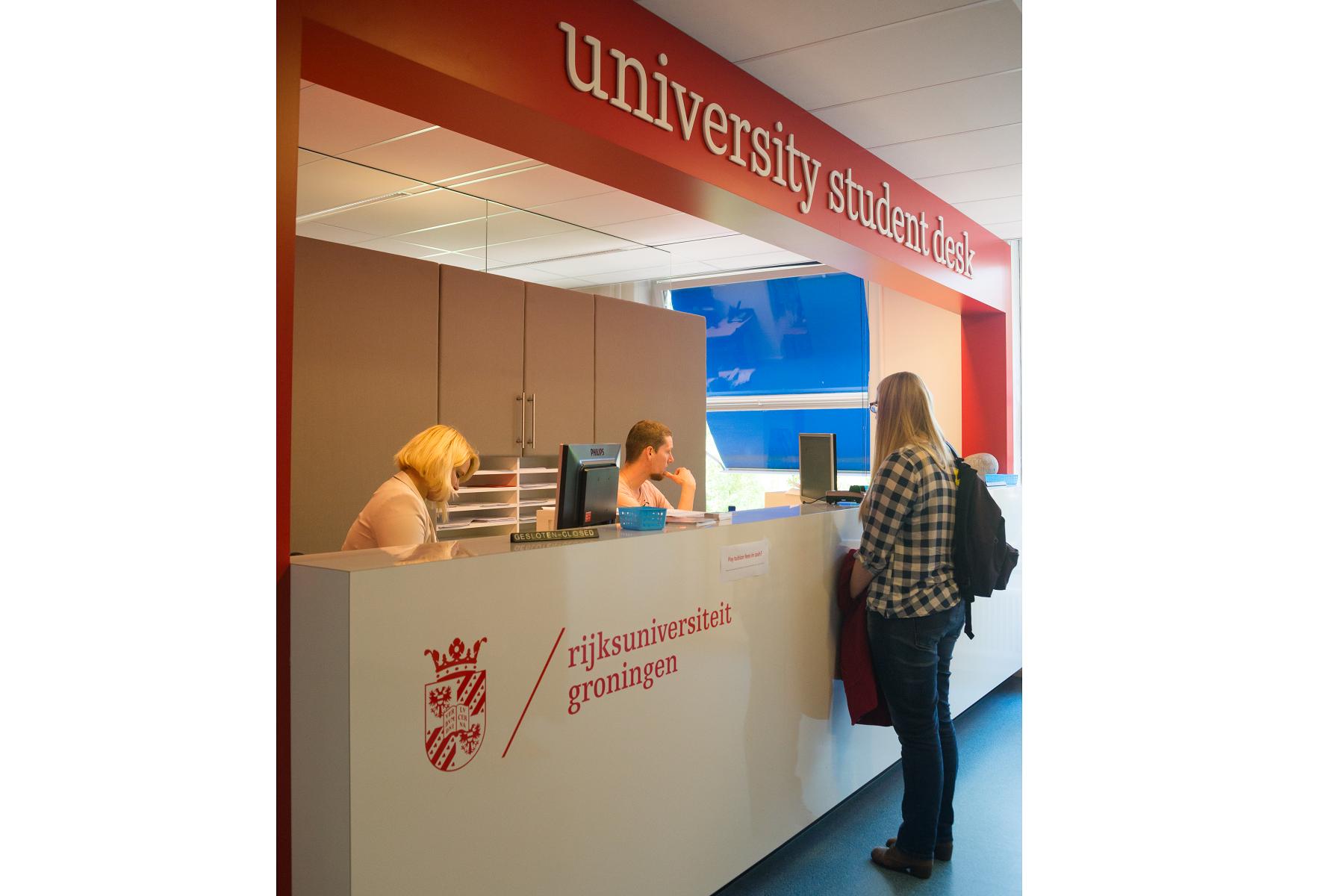 University student desk