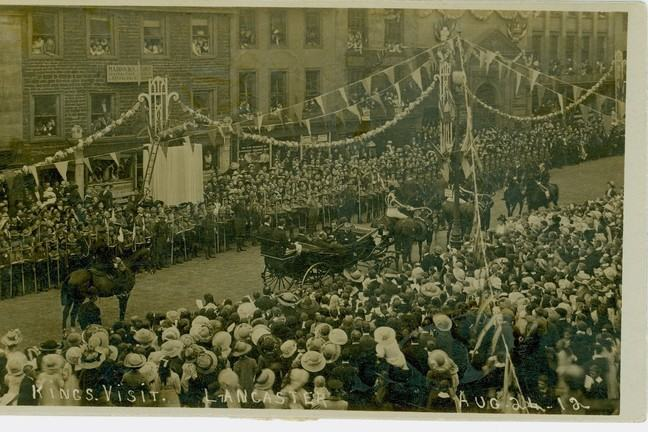 The Royal Visit to Lancaster, 1912: His Majesty King George V.