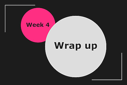 Activity image for Week 4 wrap-up