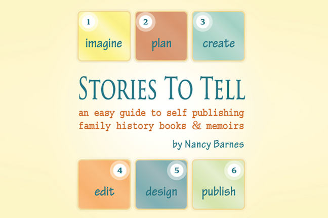 Book cover for Stories to Tell by Nancy Barnes