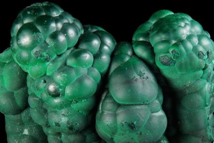 The green mineral malachite