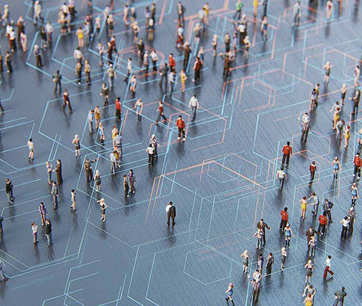 Social Network Analysis: The Networks Connecting People