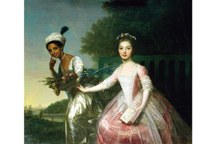 Portrait of Dido Elizabeth Belle Lindsay and her cousin Lady Elizabeth Murray