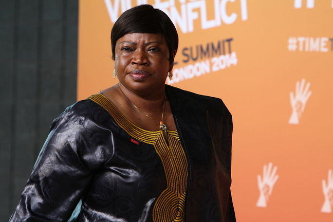 Portrait of the ICC Prosecutor Fatou Bensouda