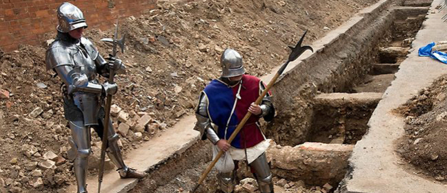 King Richard III excavation