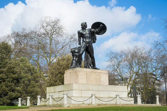 Statue of Achilles in Hyde Park
