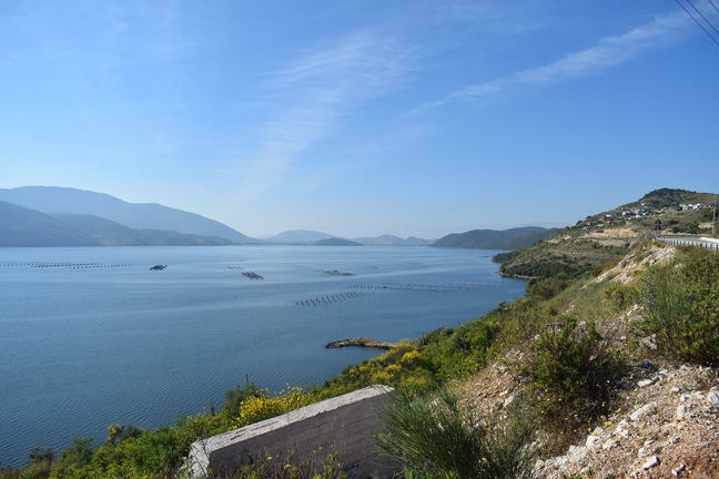 Photograph of the Albanian coastline