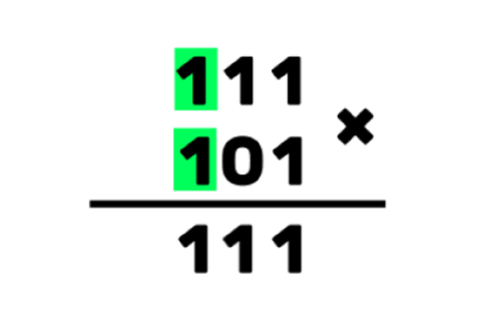 An image of binary multiplication