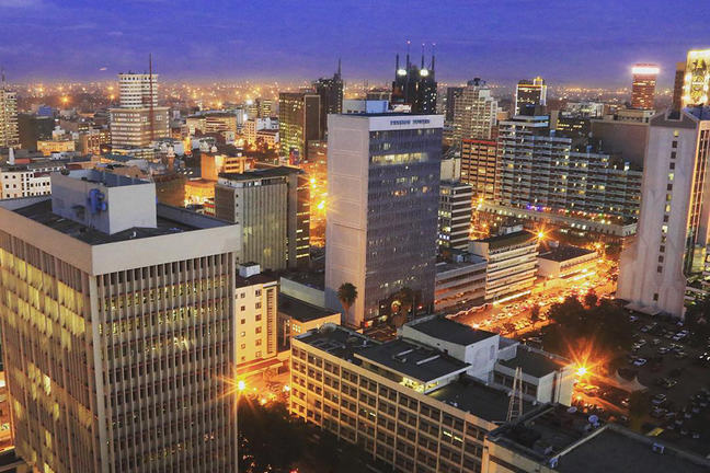 Nairobi Central Business District
