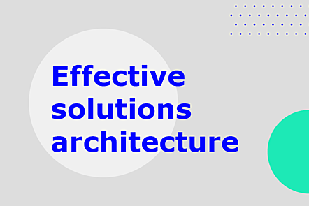 PFP01-Title card-Effective solutions architecture