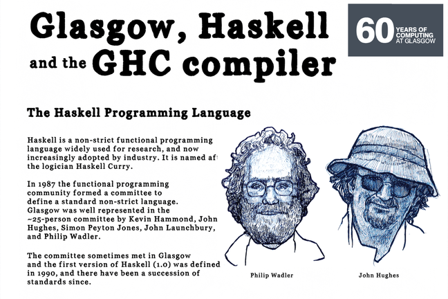 Haskell history poster