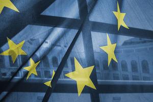 The European Union (EU) flag