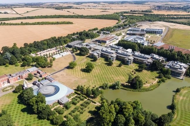 Wellcome Genome Campus Aerial View