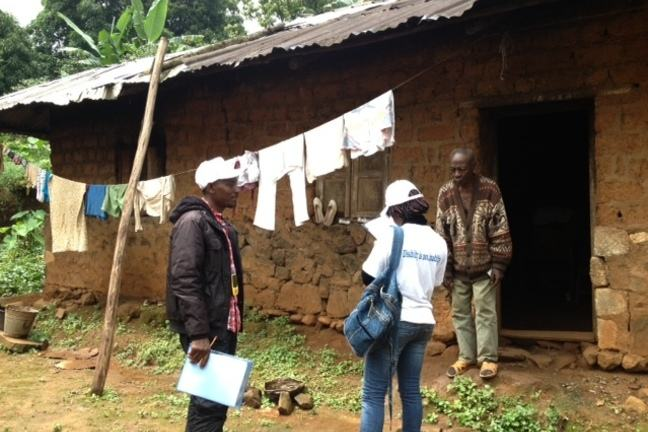 Enumerating participants for a survey of disability in Cameroon