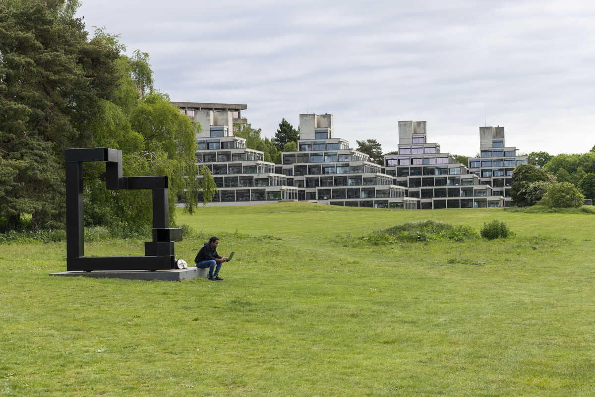 Campus grounds of University of East Anglia