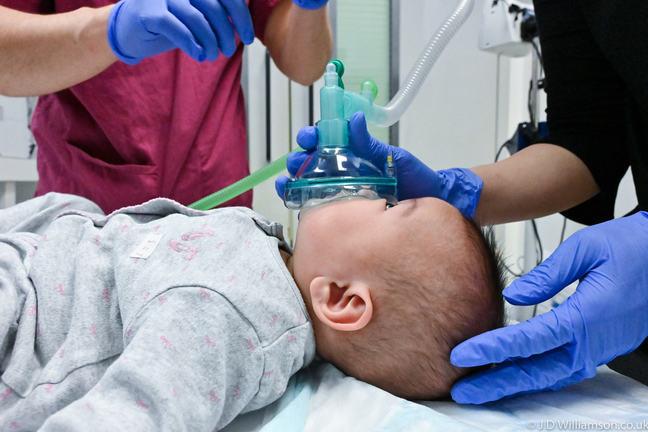 Equipment used in paediatric airway management.