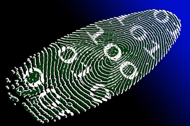 An illustration of a digital footprint.