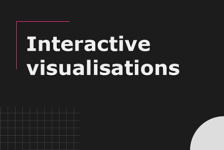 Interactive visualisations
