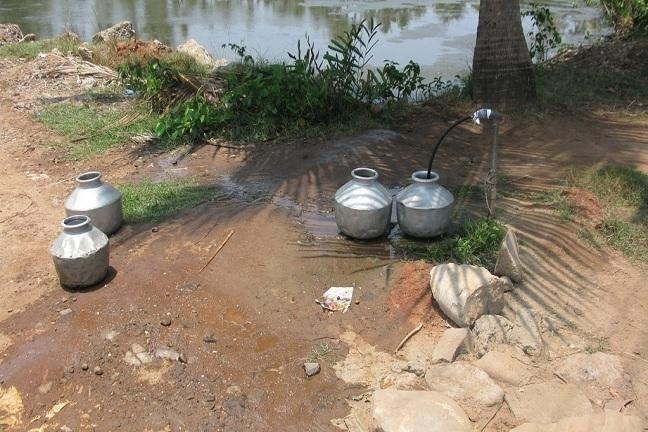 Drinking Water crisis in Nayarambalam