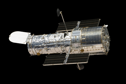 Image of the Hubble space station