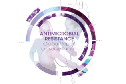 Antimicrobial Resistance Global Report logo (IMAGE: ©AMR)