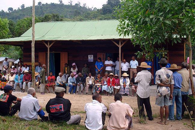 Réunion communautaire