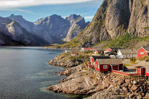 Image showing the Lofoten islands in Norway