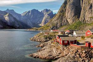 Image showing the Lofoten islands in Norway