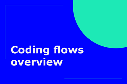 PFP01-Title card-Coding flows overview