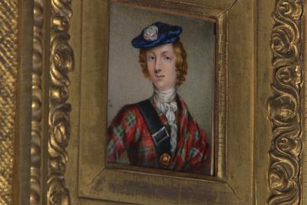 portrait of a Jacobite