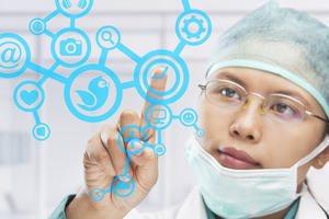 Connecting Patients and healthcare professionals through Social media