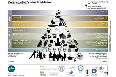 Mediterranean (MED) Food Pyramid