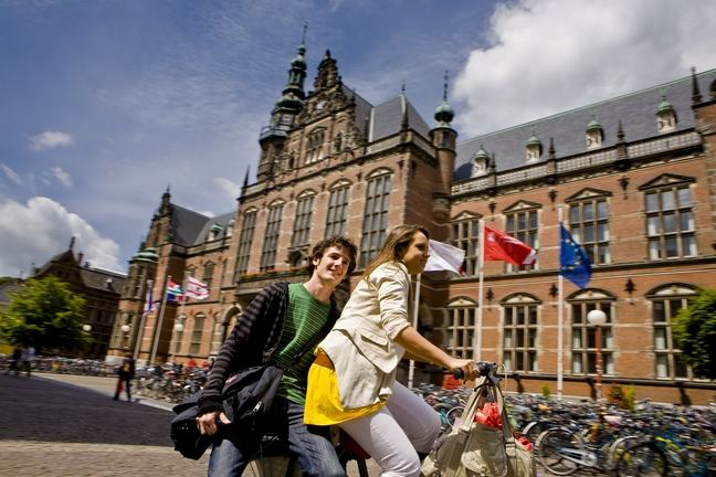 Students at the University of Groningen