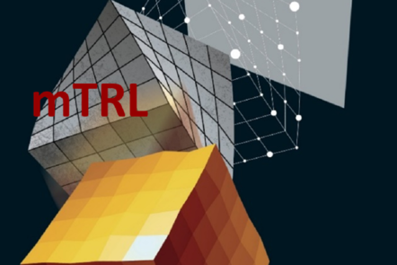 "Part of Scale-up Manual front cover image with the letters ""mTRL""."