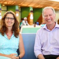 Associate Professor Susan Levine &  Professor Steve Reid