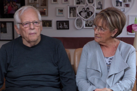 Image of Colin and Gill who share their story about DLB