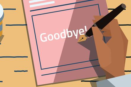 goodbye written on a prescription