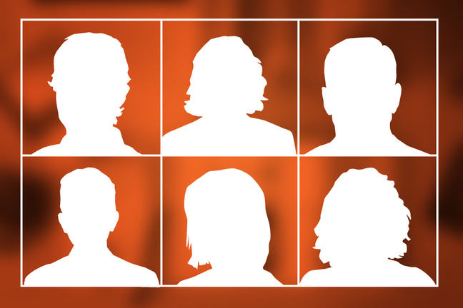 Image of silhouette figures
