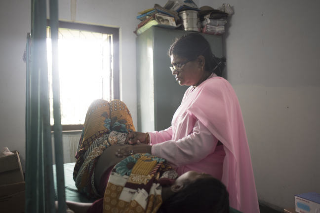Maternity Clinic in West Bengal, India