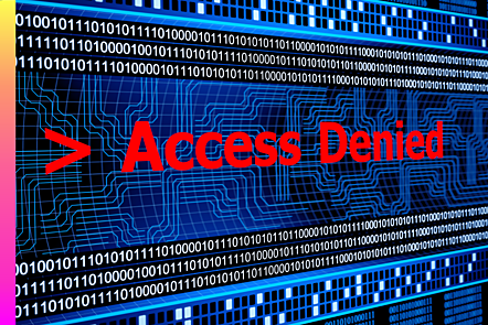 Error access denied