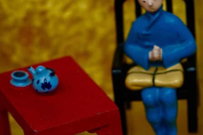 Tintin and the Blue Lotus