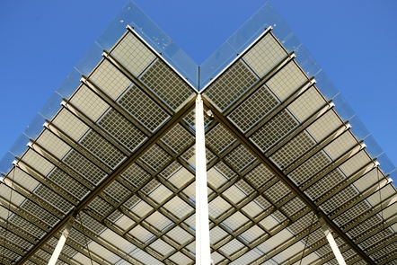 Building integrated photovoltaic shading system